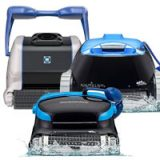 Hayward TigerShark vs Dolphin Pool Cleaners Face to Face Comparison